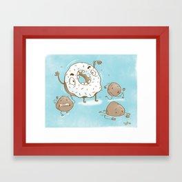 Sprinkle Monster Framed Art Print