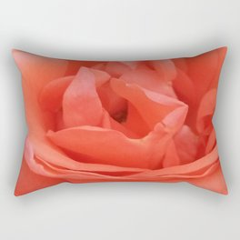 Pale Pink Rose Rectangular Pillow