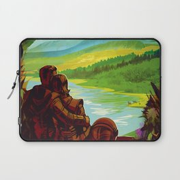 Earth - Your Oasis in Space Laptop Sleeve