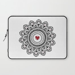Mandala true love Laptop Sleeve