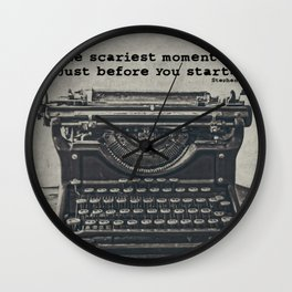 That Moment Wall Clock