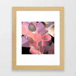 invisible.diva Framed Art Print