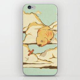 Sky Diving iPhone Skin