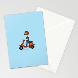 8BIT Vespa Stationery Cards