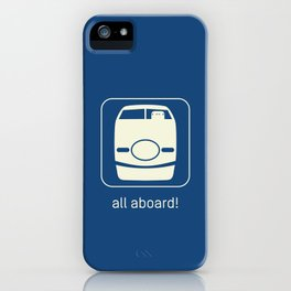 Shinkansen iPhone Case