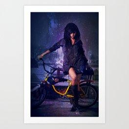 Lightscycle Art Print