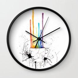 Pride coffee Wall Clock