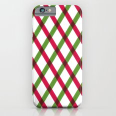 Holiday Ribbon Pattern iPhone 6s Slim Case