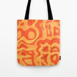Orange: The Fun Color Tote Bag