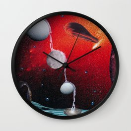 Many Moons From Now Wall Clock