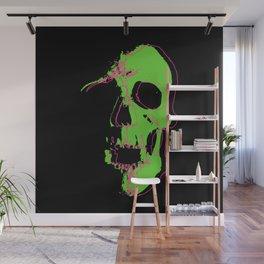 Skull - Lime Wall Mural