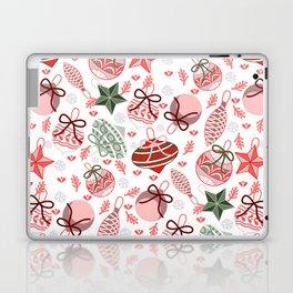 Colorful Christmas Ornaments Laptop & iPad Skin
