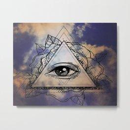 eye in the sky Metal Print