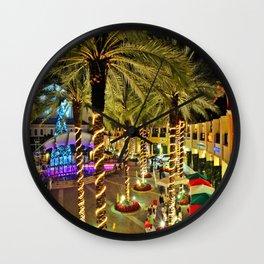 West Palm Beach Florida's CityPlace Wall Clock