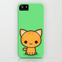 Kawaii Kitty 2 iPhone Case