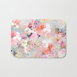 Love of a Flower Bath Mat