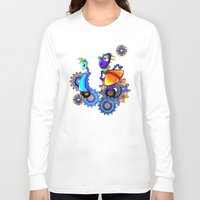robots Long Sleeve T-shirts featuring Robots by aboutlaila