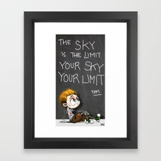 Your sky is your Limit Framed Art Print