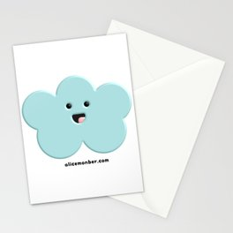 Cute Kawaii Cloud Stationery Cards