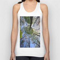woodland Tank Tops featuring Woodland by Shadoisk