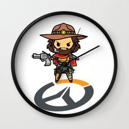 MCREE Wall Clock