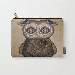 Pretty Owly Bird Girl Carry-All Pouch
