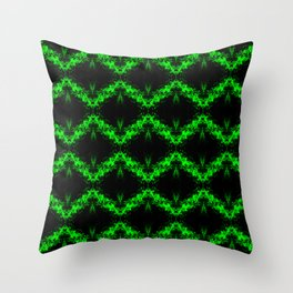Recycled Smoke Abstract Design Throw Pillow