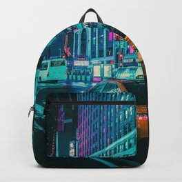 Taxi in the City (Color) Backpack