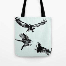 Crow Parliament Tote Bag