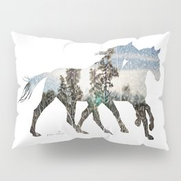 Autumn Horses Pillow Sham