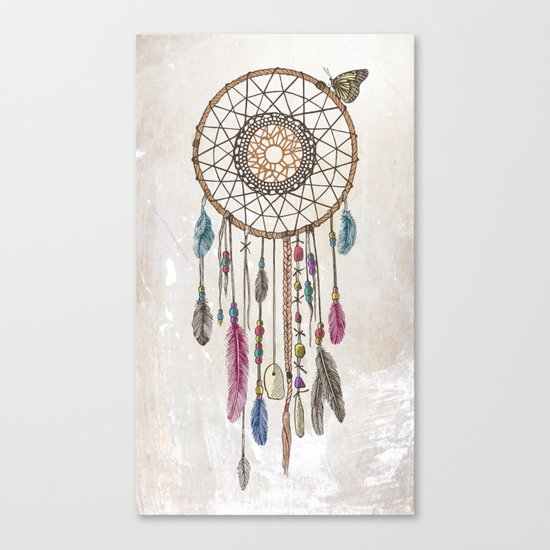 Lakota (Dream Catcher) Canvas Print