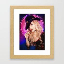 Kassandra Love Witch Framed Art Print