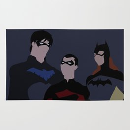 Batfamily Minimalism Rug