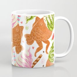 Taiyaki Mermaids Coffee Mug