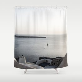 santorini 6 Shower Curtain