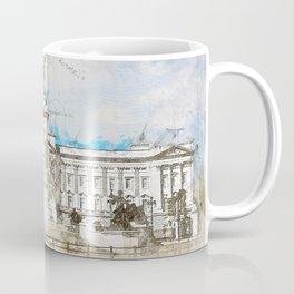 Buckingham Palace, London England Coffee Mug