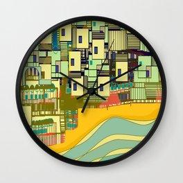 Mediterranean Coast Wall Clock
