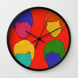 Mop Tops Wall Clock
