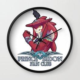 Prince Sidon Fan Club Wall Clock