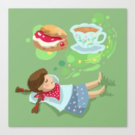 Cream Tea Canvas Print