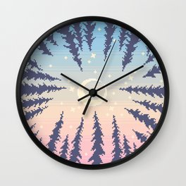 Beyond the Treetops Wall Clock