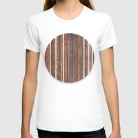 wooden T-shirts featuring wooden by Katharina Nachher