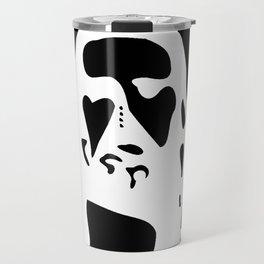 Optical Illusion - After Image - Jesus Christ Travel Mug