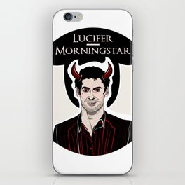 Lucifer iPhone Skin