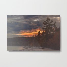 Let's Get Lost Metal Print