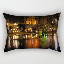 Night Time on the Torrens Rectangular Pillow