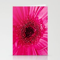 hot pink Stationery Cards featuring Hot Pink by Tracey Krick Photography