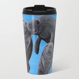 Manatees Travel Mug