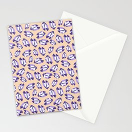 Purple Gemtsone Stationery Cards