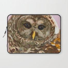 Barred Owl Laptop Sleeve